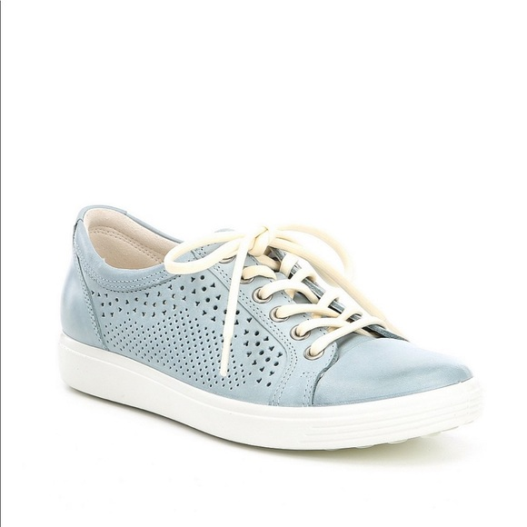 Ecco Soft 7 Trend Perforated Tie